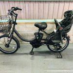 【SOLD OUT】電動自転車 ブリヂストン bikke 20インチ 子供乗せ 8.7Ah ダークグレー