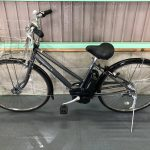 【SOLD OUT】電動自転車 YAMAHA PAS CITY リチウム  シルバー 27インチ