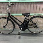 【SOLD OUT】電動自転車 YAMAHA PAS CITY-S  ブラック  27インチ