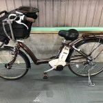 【SOLD OUT】電動自転車 BRIDGESTONE アンジェリーノ ブラウン 26インチ