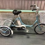 【SOLD OUT】電動自転車 YAMAHA PAS ワゴン  ブルー 3輪 16インチ