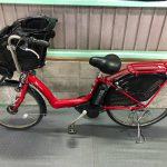 【SOLD OUT】電動自転車 BRIDGESTONE アンジェリーノ レッド 子供乗せ