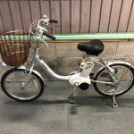 電動自転車 パナソニック VIVI LIGHT20 20インチ 3.1Ah シルバー