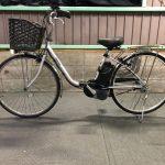 【SOLD OUT】電動自転車 パナソニック VIVI TX 26インチ シルバー ライトタイプ