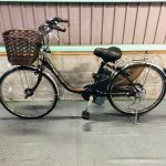 【SOLD OUT】電動自転車 パナソニック VIVI DX 24インチ 5Ah ブラウン