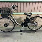 【SOLD OUT】電動自転車 パナソニック  VIVI CHARGE W 大容量16Ah 26インチ シルバー