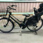 【SOLD OUT】電動自転車 ブリヂストン ハイディービー 26インチ 子供乗せ 8Ah マットブラック