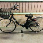 【SOLD OUT】電動自転車 パナソニック VIVI DX  26インチ 大容量16Ah 黒 ウーバーイーツ 神戸