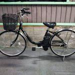 【SOLD OUT】電動自転車 パナソニック VIVI TX   26インチ ブラック 5Ah
