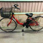 【SOLD OUT】電動自転車 パナソニック VIVI DX   26インチ 大容量12Ahバッテリー 赤