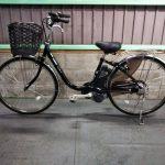 【SOLD OUT】電動自転車 パナソニック リチウムVIVI DX 26インチ 5Ah 黒