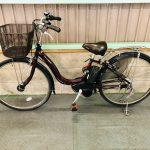 【SOLD OUT】電動自転車 ヤマハ PAS Natura パスナチュラ 8.7Ah 極上バッテリー 茶