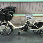電動自転車 ヤマハ PAS Kiss パスキス 20インチ 子供乗せ 8.1Ah シャンパンゴールド