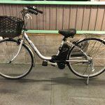 【SOLD OUT】電動自転車 パナソニック VIVI TX 26インチ 5Ah シルバー