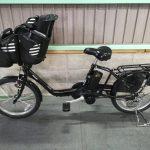 【SOLD OUT】電動自転車 パナソニック ギュット 20インチ 子供乗せ 大容量12Ah フラットブラック