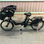 【SOLD OUT】電動自転車 ブリヂストン アンジェリーノ 20インチ 子供乗せ 8.1Ah マットブラック