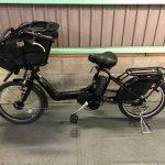 【SOLD OUT】電動自転車 ブリヂストン アンジェリーノ 20インチ 子供乗せ 極上バッテリー マットブラック