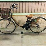 電動自転車 パナソニック VIVI SX 26インチ 6.6Ah ブラウン