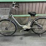 電動自転車 ヤマハ PAS パス 26インチ 4Ah シルバー