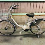 【SOLD  OUT】電動自転車 ブリヂストン アシスタ 24インチ 4Ah シルバー