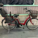 【SOLD OUT】電動自転車 ヤマハ PAS Raffini ラフィーニ 26インチ 子供乗せ 6Ah ダークレッド