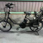 電動自転車 ブリヂストン bikke2 ビッケ 子供乗せ 8.7Ah ダークグレー