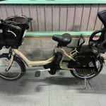 【SOLD OUT】電動自転車 ブリヂストン アンジェリーノ 20インチ 前後子供乗せ 8.7Ah ベージュ