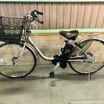 【SOLD OUT】電動自転車 パナソニック VIVI DX 26インチ 8Ah シルバー
