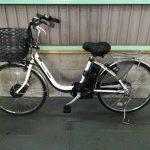 【SOLD OUT】電動自転車 パナソニック VIVI CHARGE D 24インチ 大容量バッテリー12Ah ホワイト