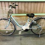 【SOLD OUT】電動自転車 ブリヂストン アシスタ Assista 26インチ 4Ah スカイブルー