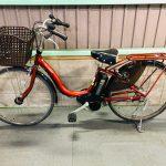 電動自転車 ヤマハ PAS Natura ナチュラ 26インチ 6Ah 海老茶色