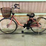 電動自転車 パナソニック VIVI EX 26インチ 6Ah フレアレッドパール