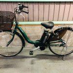 【SOLD OUT】電動自転車 ヤマハ PAS Natura ナチュラ 26インチ 6Ah グリーン