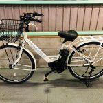 【SOLD OUT F様】電動自転車 ブリヂストン ステップクルズ STEPCRUZ 26インチ 8.7Ah ホワイト
