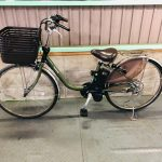 【SOLD OUT】電動自転車 パナソニック ビビ 最新デジタル 26インチ マットグリーン 12Ah 大容量バッテリー 2019年