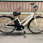 【SOLD OUT】電動自転車 YAMAHA PAS CITY 白 8段変速 大容量バッテリー!