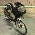【SOLD OUT】電動自転車 BRIDGESTONE アンジェリーノ ブラウン 子供乗せ