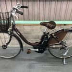 【SOLD OUT】電動自転車 YAMAHA PAS  大人気ブラウン  26インチ