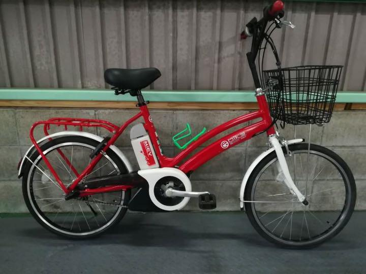 SOLD OUT】電動自転車 三菱 MIEV 赤 希少!20インチ コンパクトモデル ...