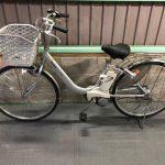 【SOLD OUT】電動自転車 パナソニック  リチウムビビNX 26インチ シルバー