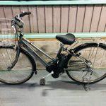 【SOLD OUT】電動自転車 ヤマハ PAS City 27インチ シルバー 大容量8.7Ah