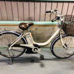 【SOLD OUT】電動自転車 ブリヂストン アシスタ 24インチ アイボリー