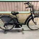 【SOLD OUT】電動自転車 BRIDGESTONE   アシスタボーテ 黒 子供乗せ 3人乗り適合