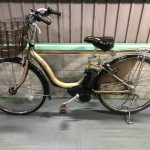 【SOLD OUT】電動自転車 BRIDGESTONE   アシスタDX 26インチ ゴールド 極上バッテリー