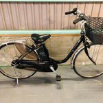 【SOLD OUT】電動自転車 パナソニック リチウムビビ 黒 26インチ 初心者向き