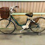 【SOLD OUT】電動自転車 ブリヂストン アシスタ グリーン 初心者向き 26インチ