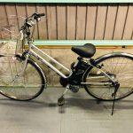 【SOLD OUT】電動自転車 パナソニック リチウムビビ 27インチ シルバー 8.9Ah
