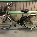 【SOLD OUT】電動自転車 パナソニック LIGHT U ライトU ブラウン 26インチ