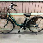 【SOLD OUT】電動自転車 ヤマハ パスナチュラ PAS Natura 26インチ グリーン