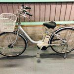 【SOLD OUT】電動自転車 ヤマハ PAS 26インチ シルバー ライトタイプ